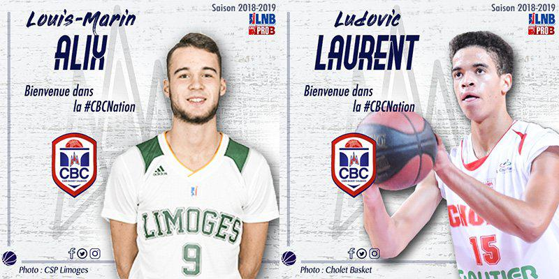 Louis-Marin Alix et Ludovic Laurent au CBC